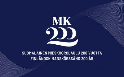Suomalainen mieskuorolaulu 200 vuotta -juhlakonsertit Turussa 7.5. ja Helsingissä 14.5.2019