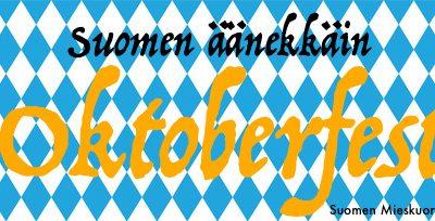 Suomen äänekkäin Oktoberfest Tampereella 10.10.2020