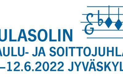 Sulasolin Laulu- ja soittojuhlat Jyväskylässä 9.-12.6.2022