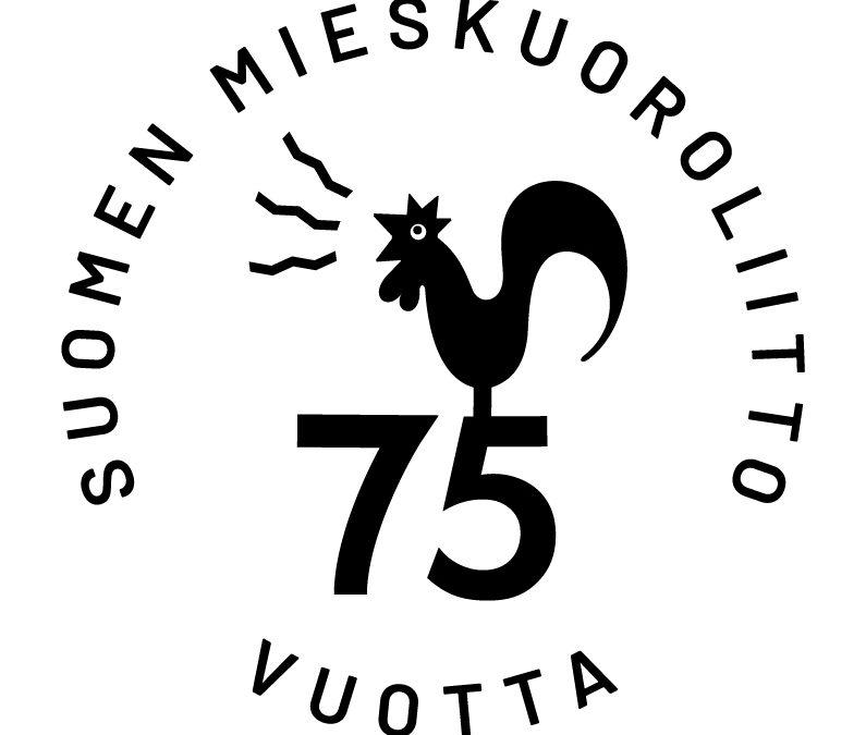 Suomen Mieskuoroliitto 75 vuotta – juhlaa koko vuosi!