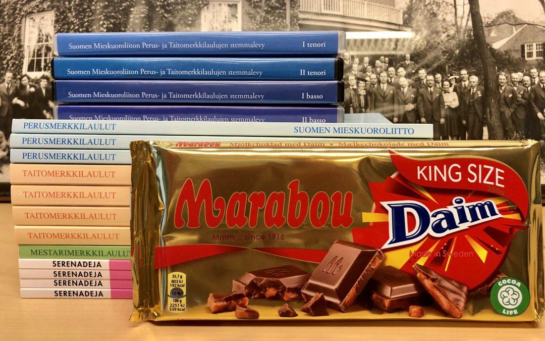 Huhtikuun jäsentarjous: ilmainen toimitus ja suklaalevy kaupan päälle!