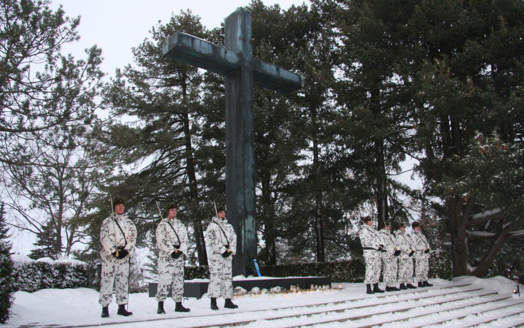 Jouluaaton hartaus Hietaniemen hautausmaalla 24.12.2019