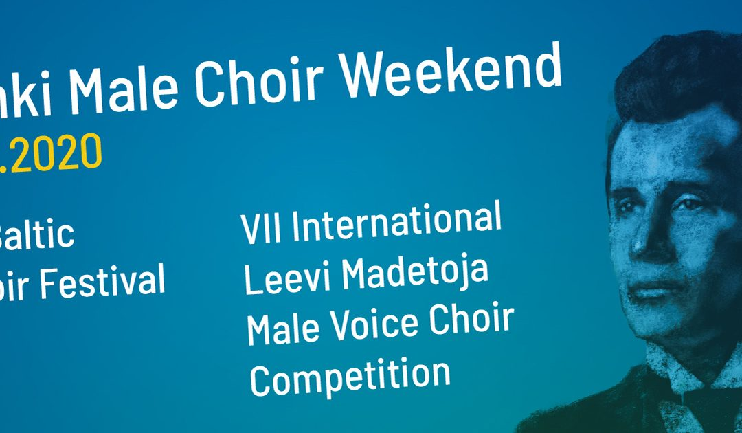 SKJUTAS UPP – Helsinki Male Choir Weekend 17.-19.4.2020 [på svenska]