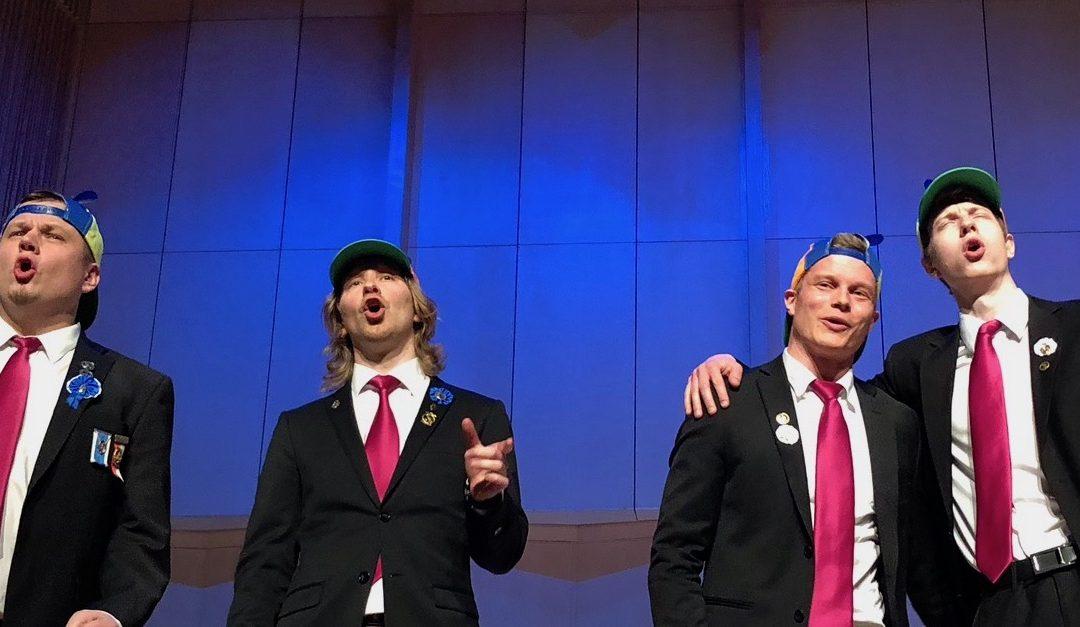 """Lauluyhtyekilpailu """"Lauluyhtyeiden Keisari"""" Tampereella 12.10.2019"""
