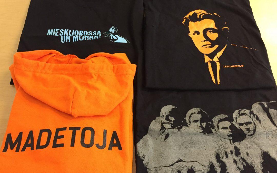 Kesäkuun jäsentarjous: t-paidat, hupparit ja sukat uloskantohinnoin!